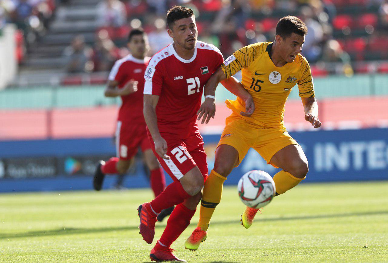 بازی استرالیا و فلسطین