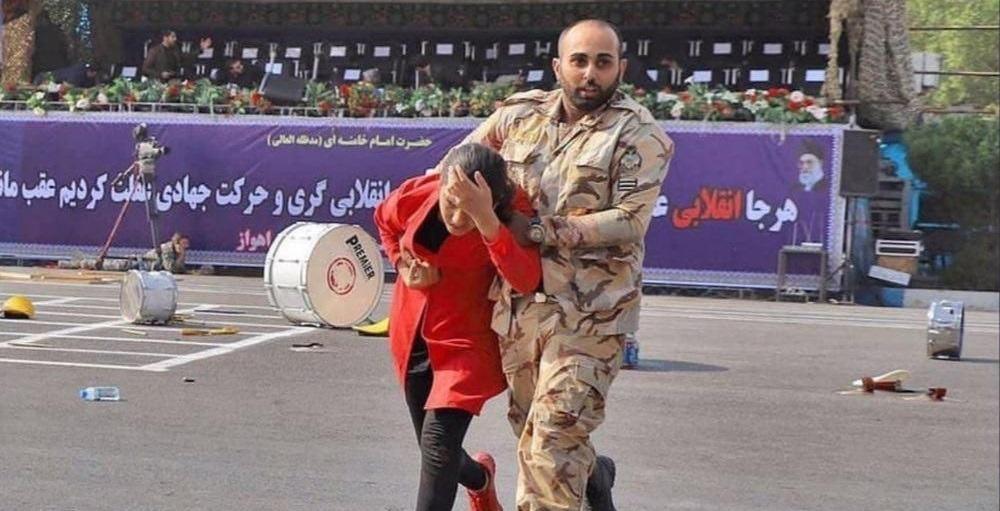 ناگفته های سرباز فداکار ارتش از حادثه تروریستی اهواز