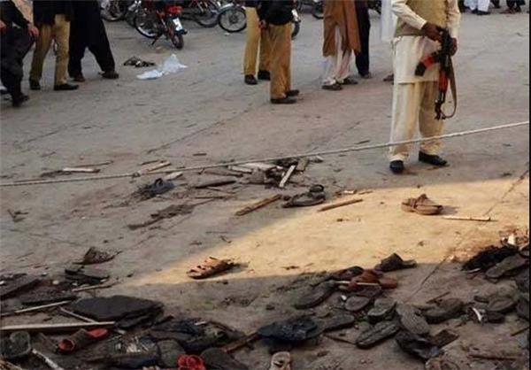 حمله انتحاری پاکستان