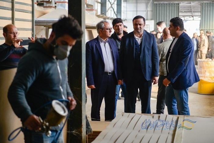افتتاح پروژه ها صنعتی