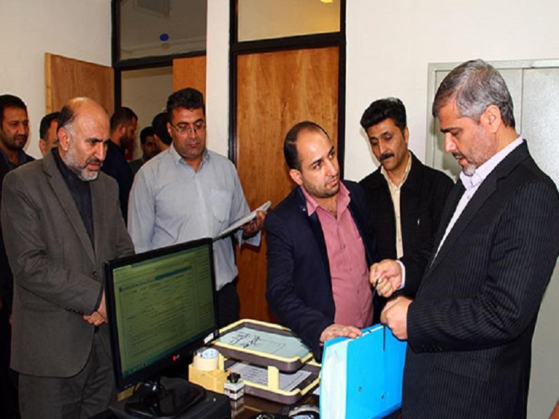 بازدید سرزده رئیس کل دادگستری استان فارس از دادگاه عمومی بخش زرقان 5