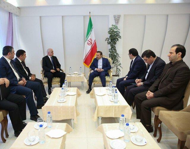 دیدار واعظی با وزیر اقتصاد جمهوری آذربایجان