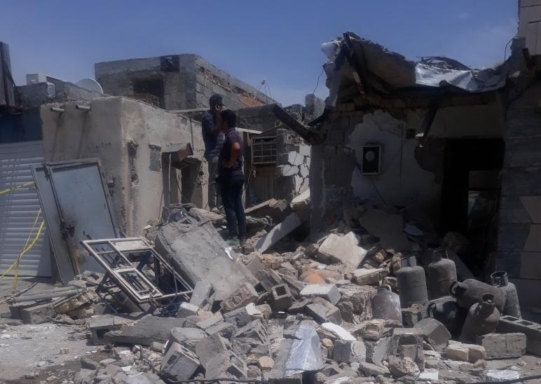 انفجار یک منزل مسکونی