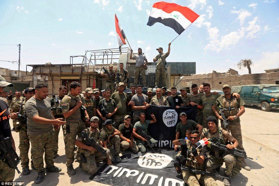 حمله داعش در مرزهای عراق و سوریه