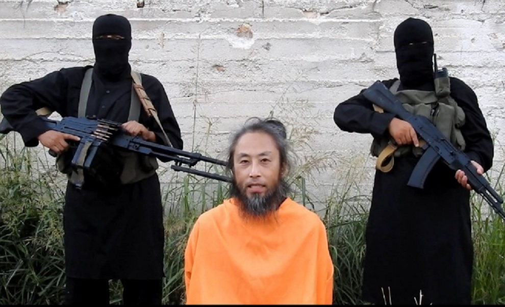 آزادی خبرنگار ژاپنی