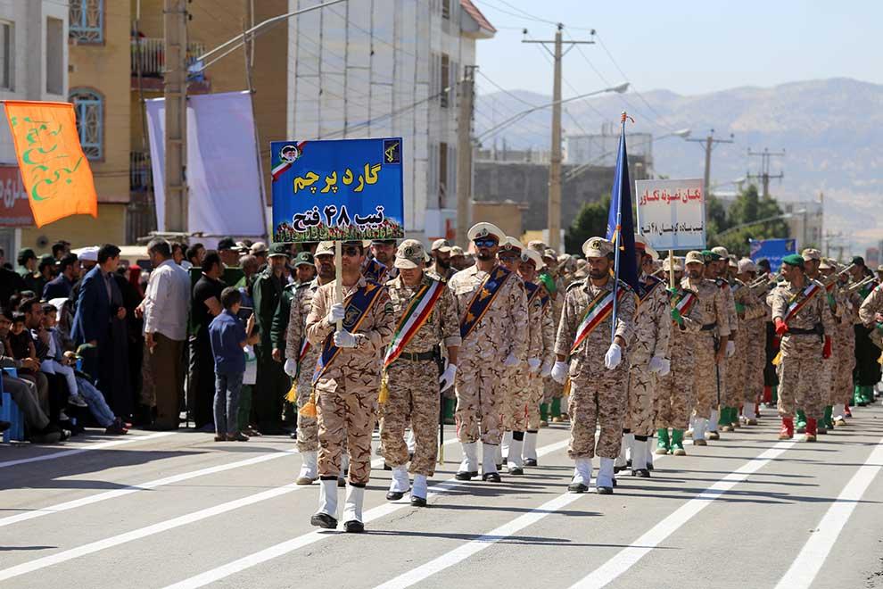 رژه دفاع مقدس (2)