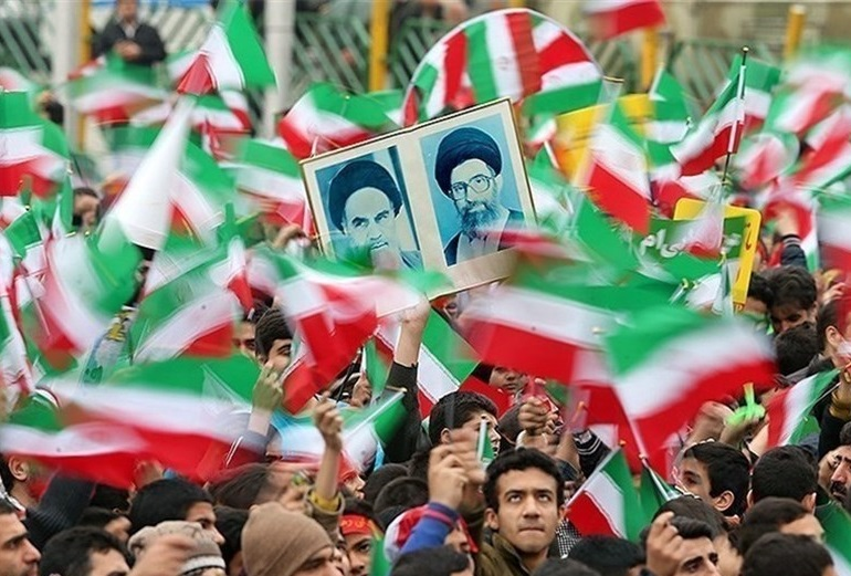 راهپیمایی 22 بهمن کرمانشاه