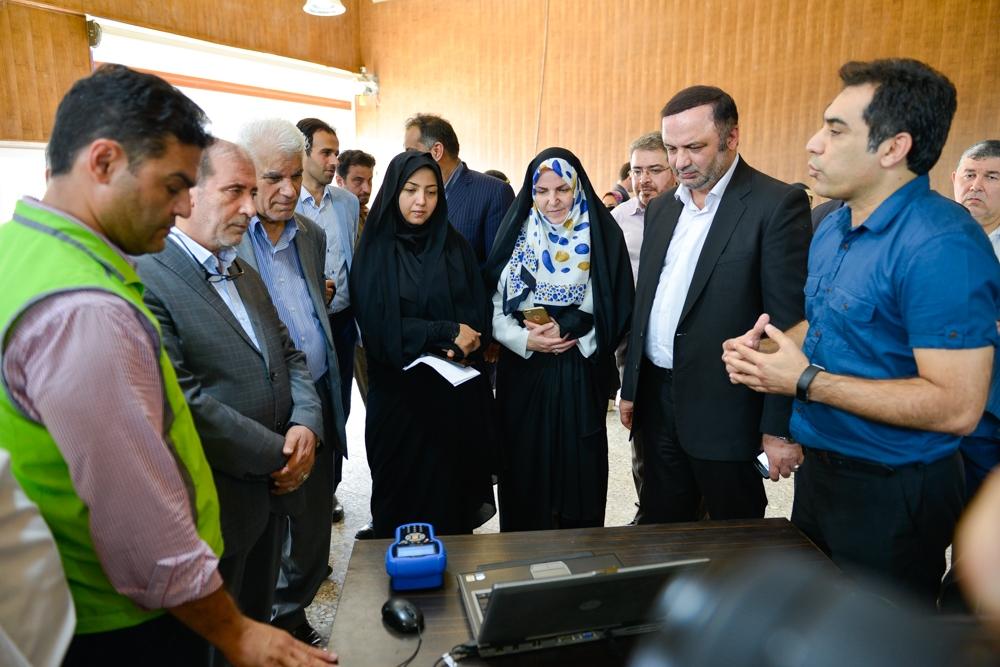 بازدیداعضای +کمیسیون اقتصادی مجلس از منطقه ازاد انزلی
