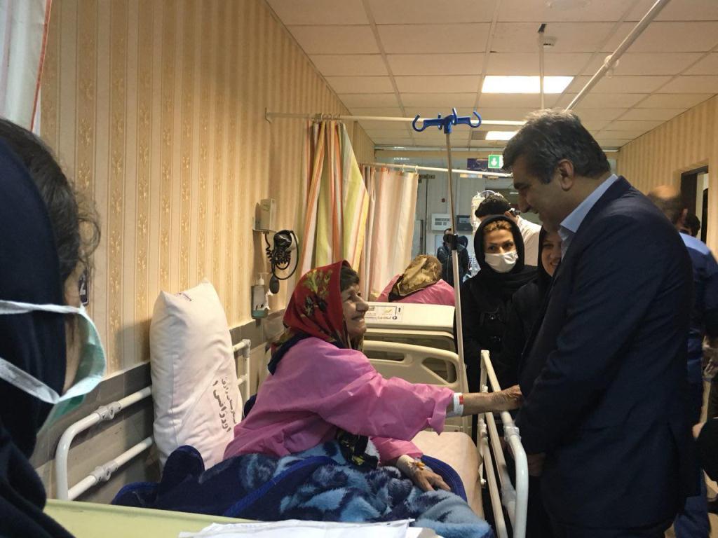 بازدید سرزده استاندار گیلان از بیمارستان رازی رشت