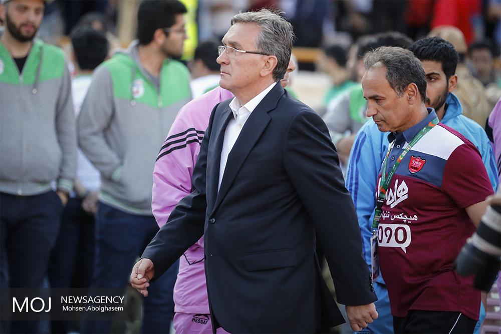 برانکو ایوانکوویچ قبل از دیدار تیم پرسپولیس مقابل پدیده
