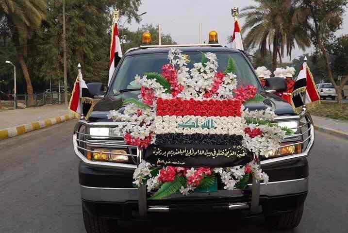 تشییع پیکر شهید سلیمانی و ابومهدی المهندس4