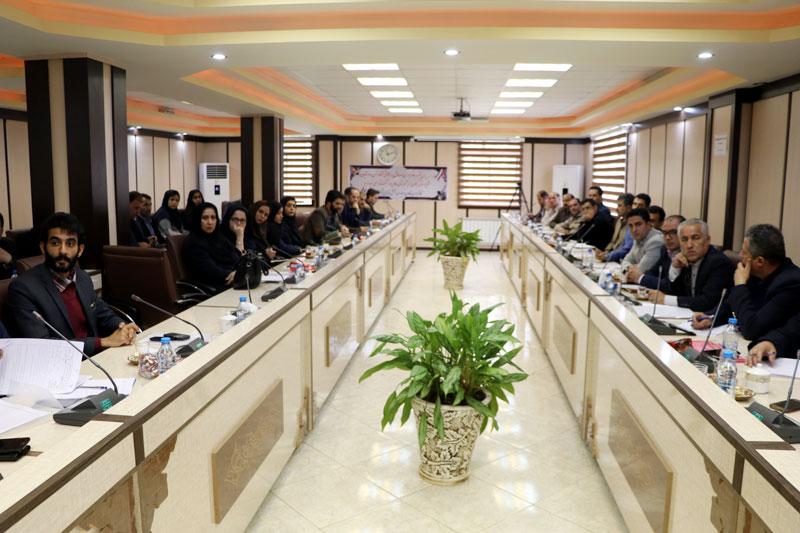 همایش مدیران کارگزاری های صندوق بیمه اجتماعی روستاییان و عشایر استان گیلان