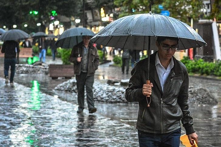 هوای کرمانشاه تا آخر هفته بارانی و سرد