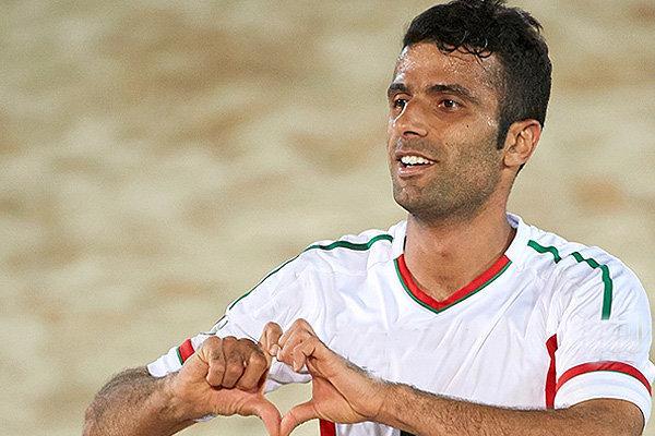 محمد احمدزاده کاپیتان تیم ملی فوتبال ساحلی