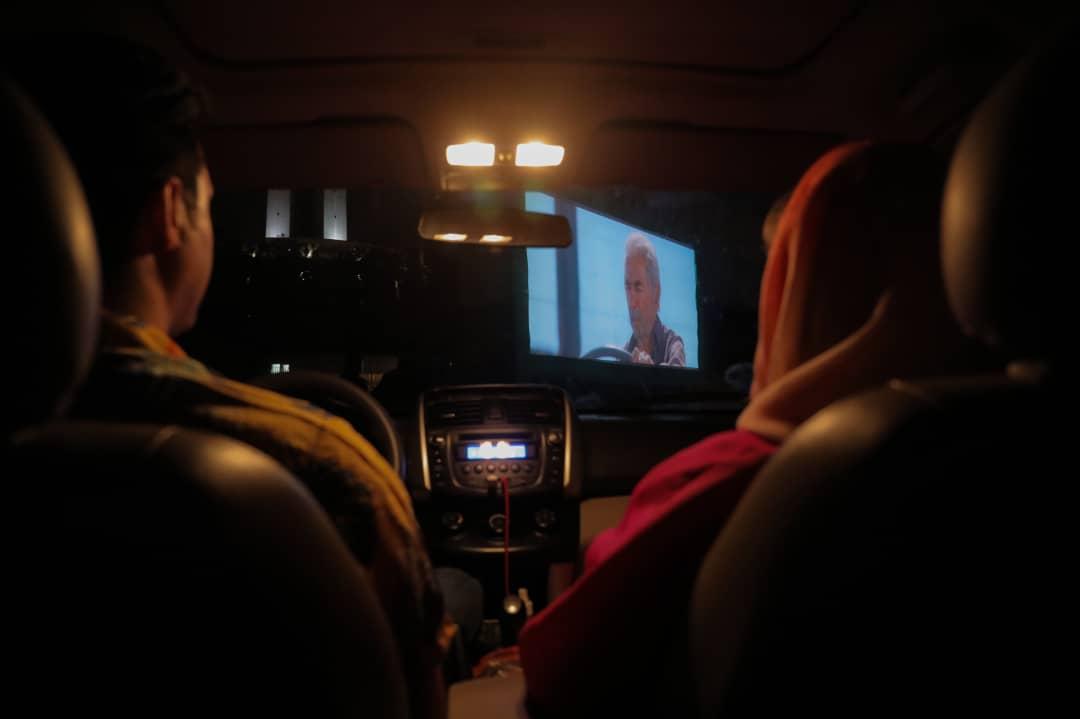 اکران خروج در سینماماشین
