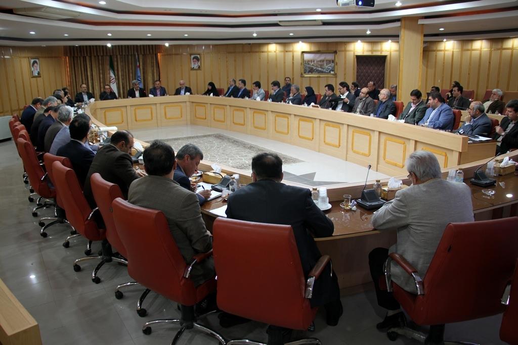 جلسه مشترک آب بندان ها