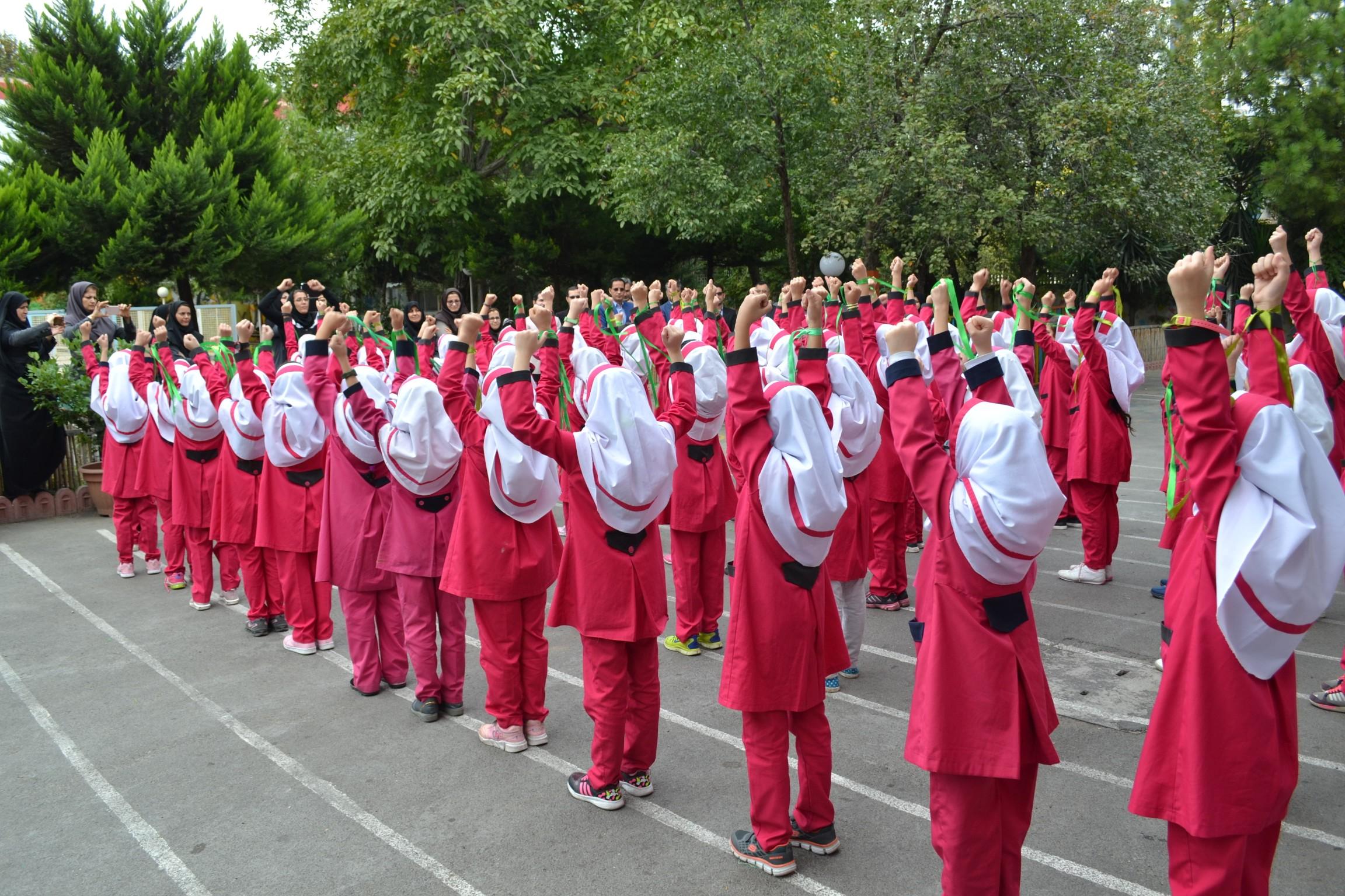 افتتاح سالن پیلاتس دبستان دختران سما رشت
