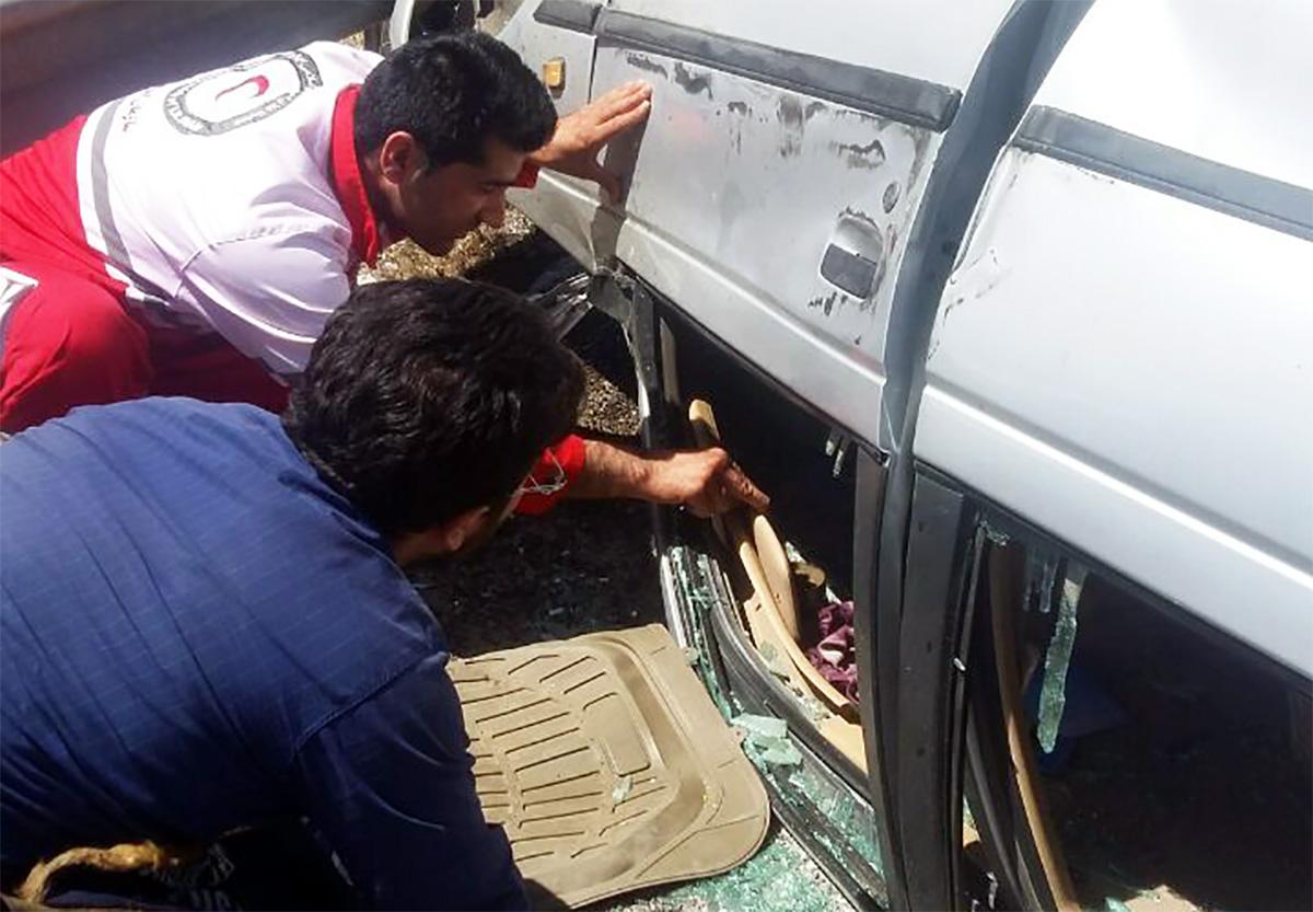 تصادف در محور نورآباد به کرمانشاه