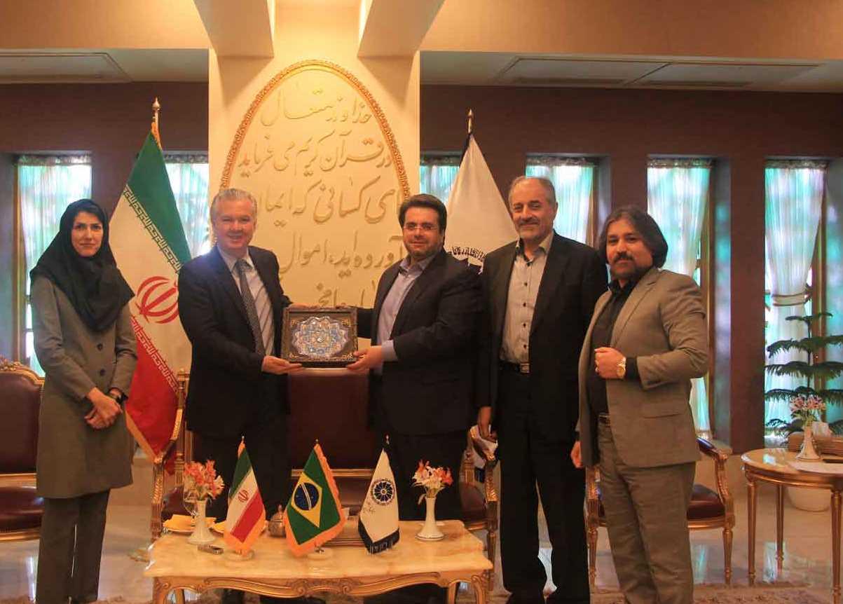 اصفهان سفیر برزیل