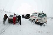 ۱۴ استان کشور درگیر برف و کولاک/رهاسازی ۲۴۶خودرو از برف و کولاک/اسکان 20 نفر به صورت اضطراری