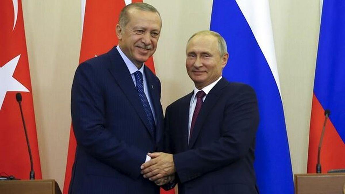 بررسی پرونده سوریه توسط رؤسای جمهور ترکیه و روسیه در دیدار فردا