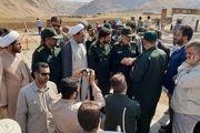 سردار سرلشکر سلامی از مناطق سیل زده پلدختر دیدن کرد