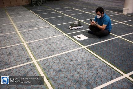 اقامه نماز عید سعید فطر در دانشگاه تهران
