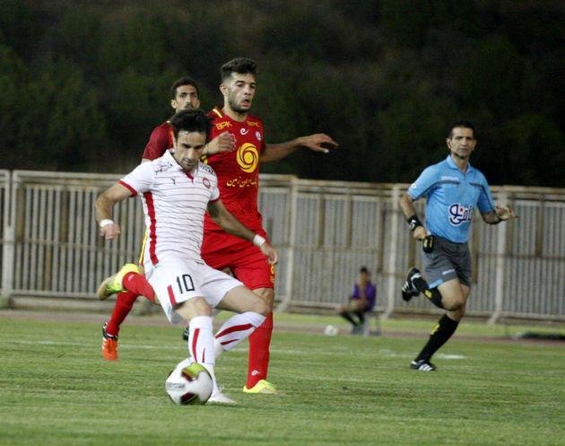 تیم فوتبال سپیدرود رشت میزبان سیاه جامگان مشهد است