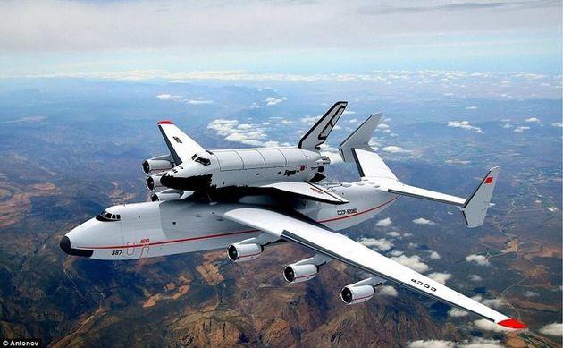 برنامه چین برای پرتاب ماهواره با آنتونوف