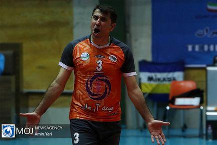 دیدار تیم های والیبال سایپا و کاله مازندران -۱۰ آذر ۱۳۹۸
