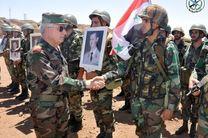 دیدار وزیر دفاع سوریه به فرماندهان ارتش این کشور