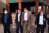 بازدید فرماندار یزد از بزرگترین طرح های فرهنگی و عمرانی شهرستان یزد