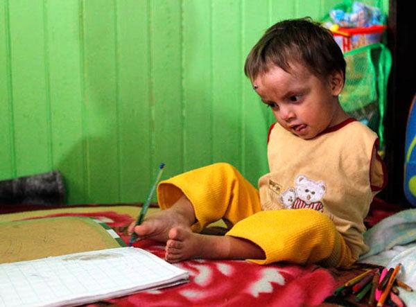 کودکان انجمن بهشت نماد توانایی و قدرت هستند