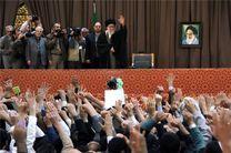 ویژه برنامه نوروزی سخنرانی مقام معظم رهبری در حرم رضوی آغاز شد