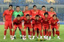 ترکیب اصلی ویتنام مقابل ایران مشخص شد