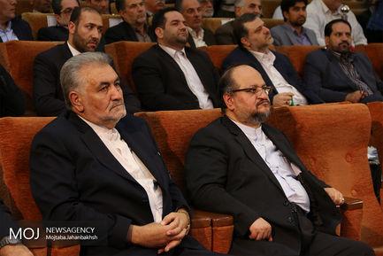 مراسم بهره برداری از فاز سوم قطار شهری اصفهان