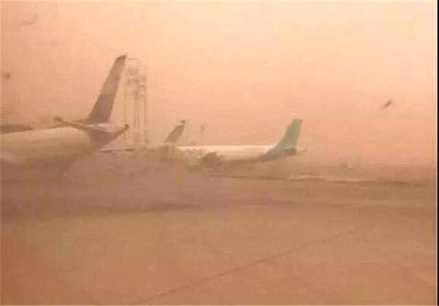 آسمان خاکی 4 پرواز فرودگاه اهواز را معلق کرد