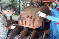 پایان عملیات اورهال واحد 2 ایستگاه تقویت فشار گاز آبشیرین