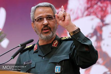سردار غلامحسین غیب پرور رییس سازمان بسیج مستضعفین