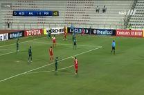 شکست پرسپولیس مقابل الاهلی عربستان در نیمه نخست