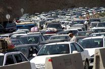 ترافیک سنگین در محورهای هراز و کرج - چالوس