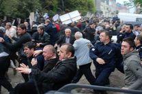 ناآرامی در گرجستان/ 22 نفر مجروح شدند