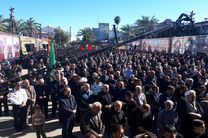گردهمایی بزرگ اربعین در  حسینیه شهداء پیاده راه فرهنگی رشت
