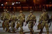 خروج نیروهای آمریکایی از پایگاه بگرام افغانستان