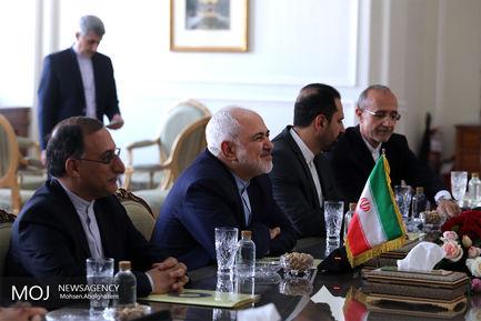 دیدار وزرای خارجه انگلیس و ایران
