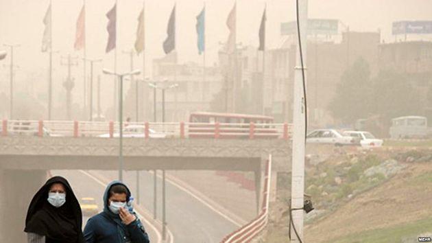 هوای 10 شهر خوزستان در وضعیت خطرناک قرار گرفت