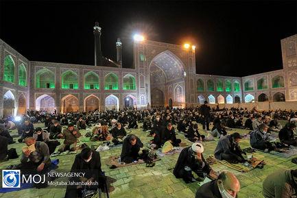 احیای شب بیست و سوم ماه مبارک رمضان در میدان امام اصفهان