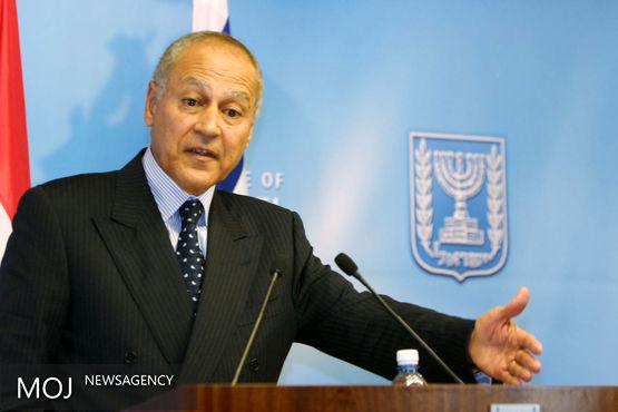 دیدار وزیر خارجه بحرین با دبیرکل اتحادیه عرب