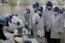 افتتاح خط تولید ماسک، ژل ضدعفونی و لباس ضد ویروس در بندرعباس