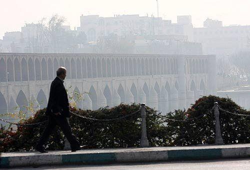 کیفیت هوای اصفهان ناسالم است / شاخص کیفی هوا 107